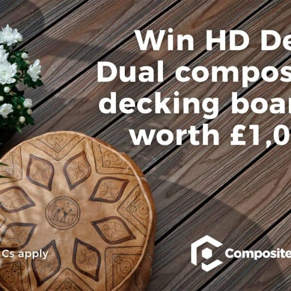 WIN HD Deck Dual decking boards worth £1,000!