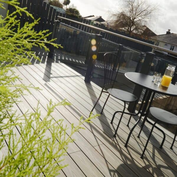 How easy is composite decking to fit?
