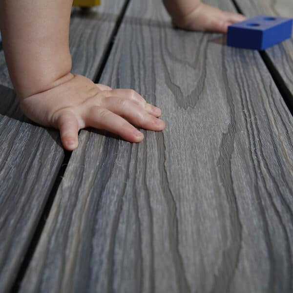 Baby safe composite decking for new parents this summer