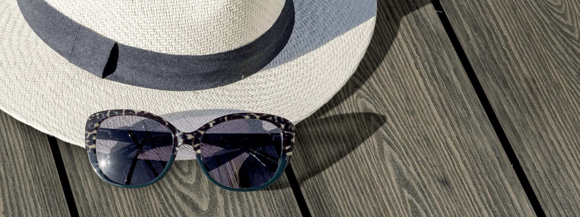 HD Deck 3D Hat Sunglass