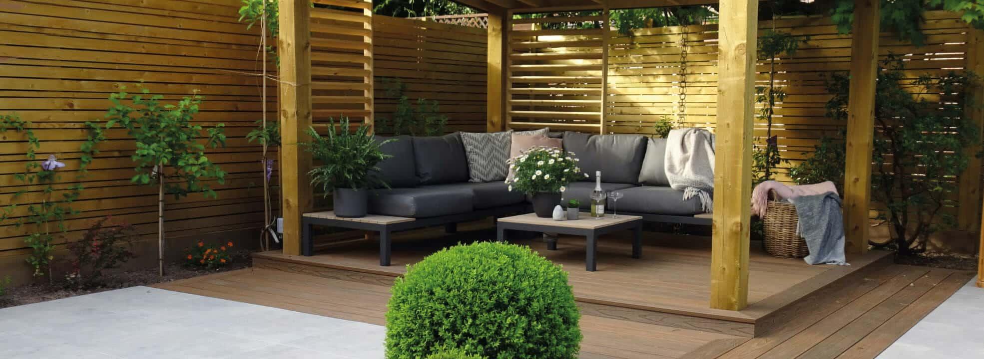 HD Deck Dual Sofa Decking