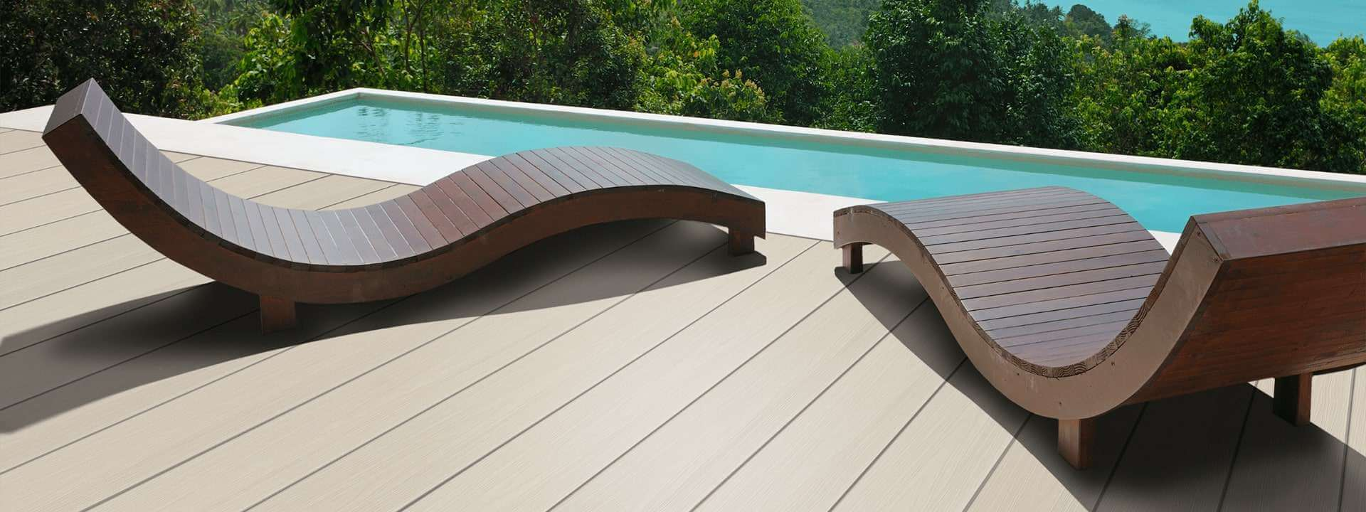 HD Deck Pro Luxury Deck lounge chairs pool