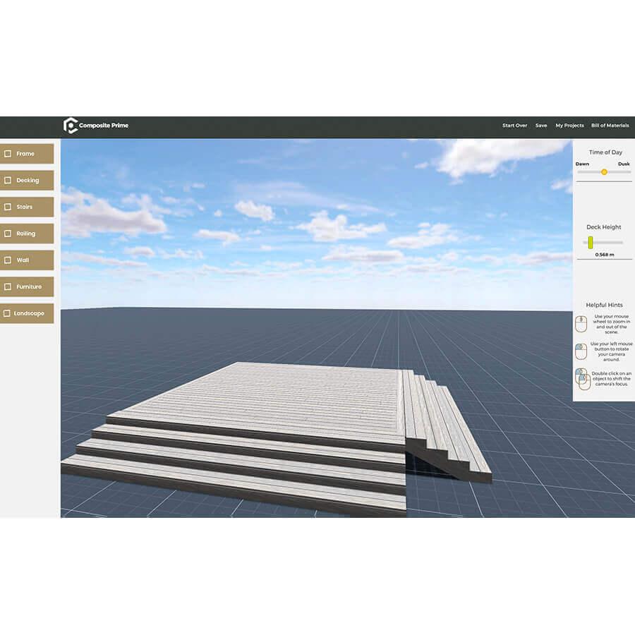 3D Deck Builder