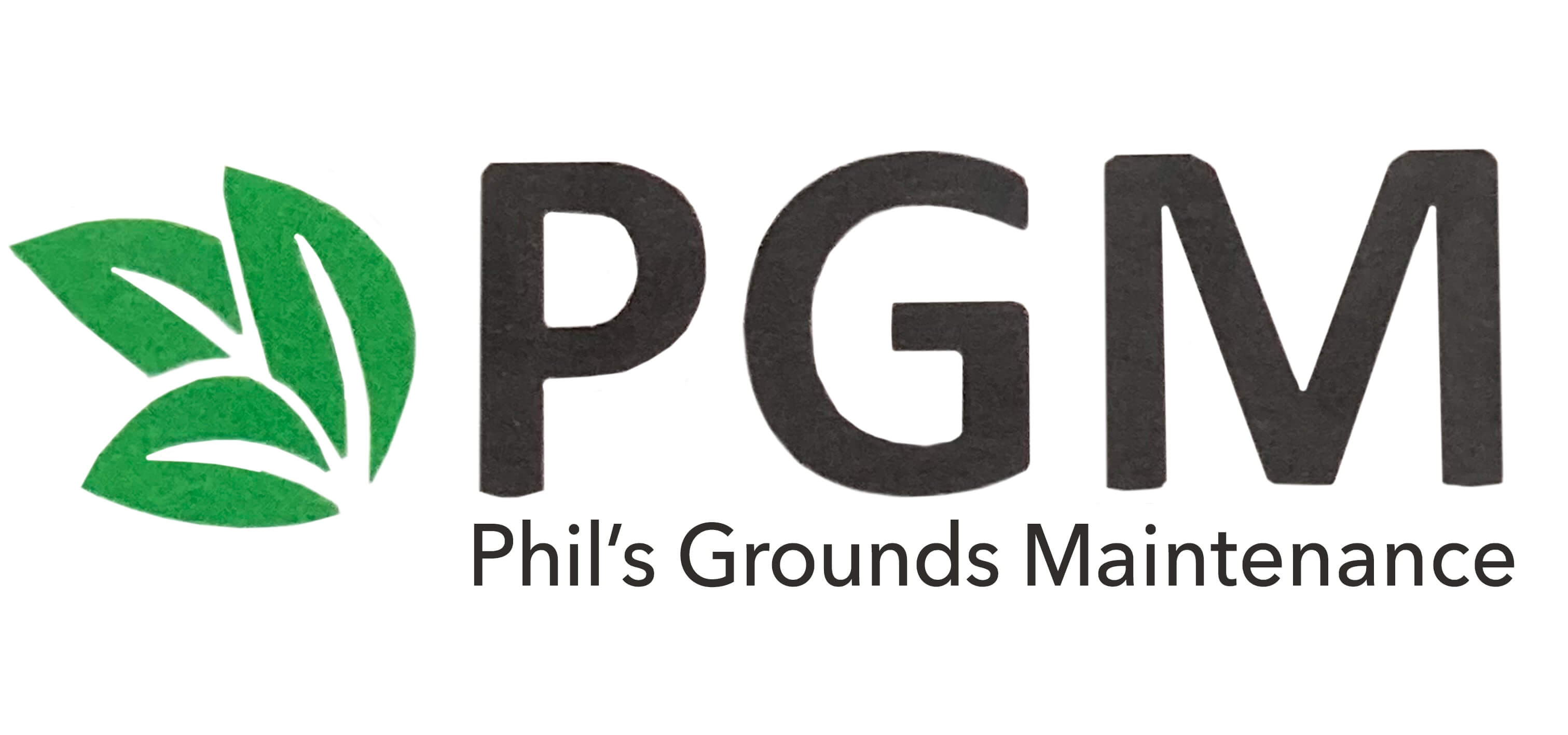 Phil's Grounds Maintenance Logo