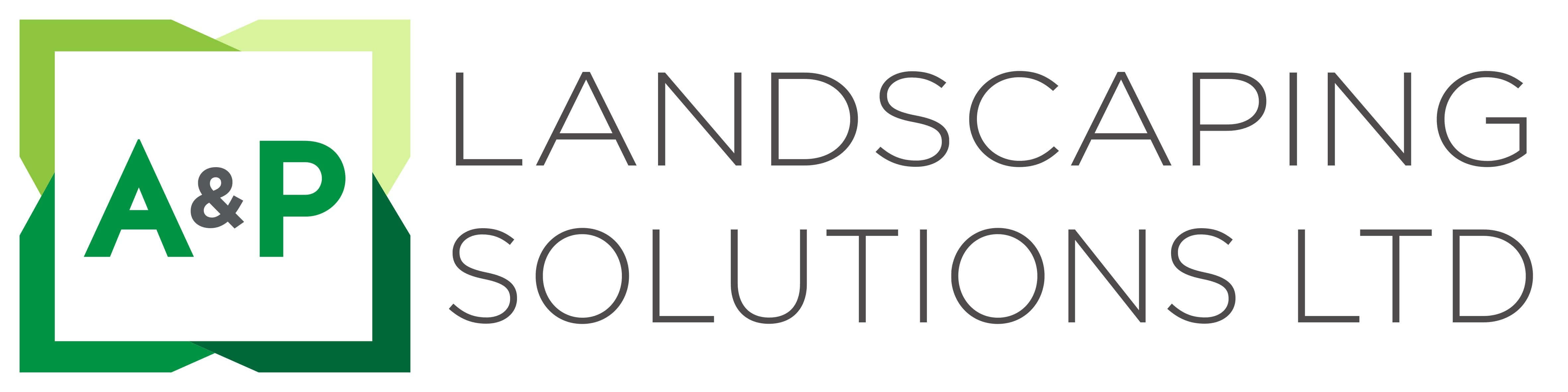 A & P Landscaping Solutions Logo