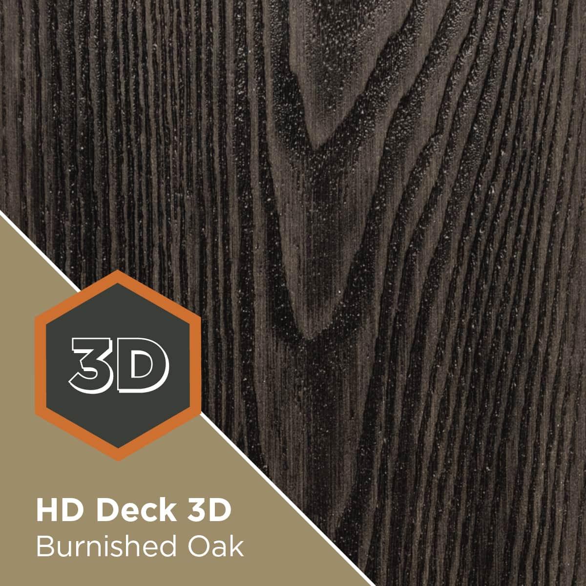 HD Deck 3D Burnished Oak
