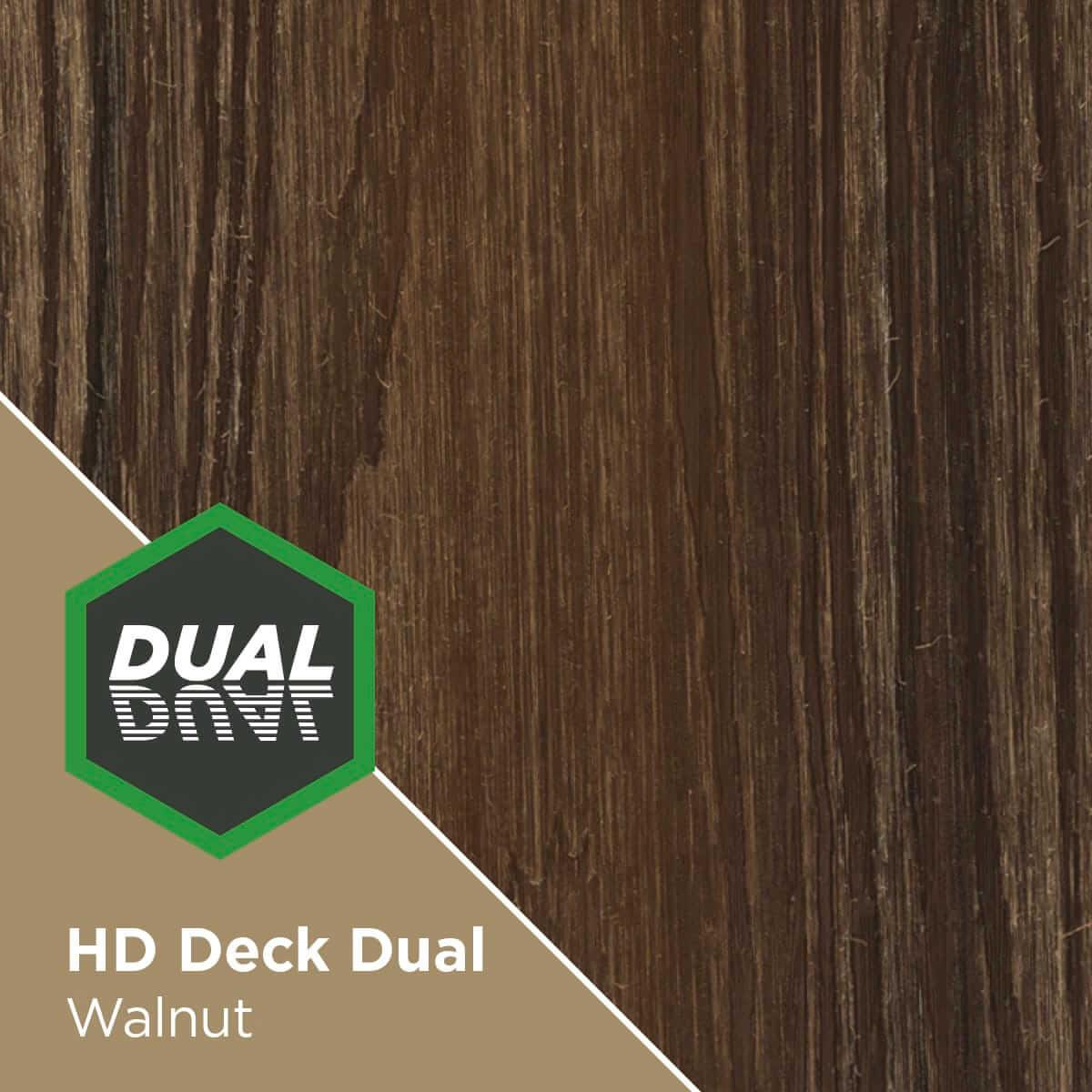 HD Deck Dual Walnut